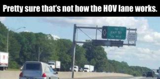 I-24 HOV Lane Violators