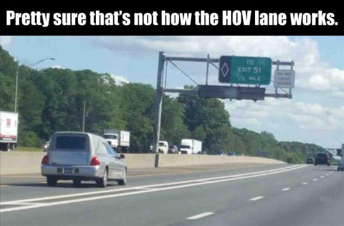 I-24 HOV Lane Violators